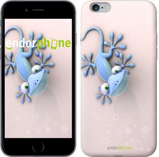 """Чехол на iPhone 6s Plus Гекончик """"1094c-91-571"""""""