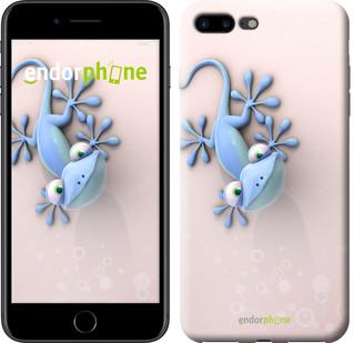 """Чехол на iPhone 7 Plus Гекончик """"1094c-337-571"""""""