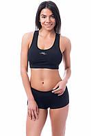 Спортивный Топ с пуш-ап, (универсальный размер (42, 44, 46 ,48) топик для спорта и фитнеса из бифлекса