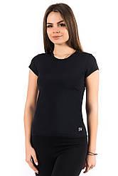 Спортивная футболка (42, 44, 46, 48, 50, 52, 54) женская футболка для спорта и фитнеса  большой размер