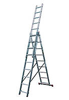 Лестница Krause 3x9 Corda универсальная алюминиевая