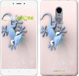 """Чехол на Xiaomi Redmi Note 4 Гекончик """"1094c-352-571"""""""