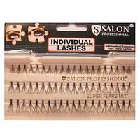 Накладные ресницы Salon Professional Super Flare Mix пучковые супер пушистые микс