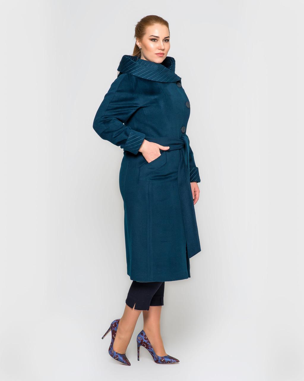 Пальто с капюшоном ботал