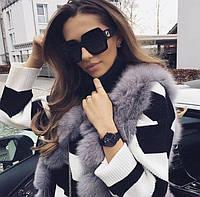 Очки Gucci, солнцезащитные очки Гуччи черные, фото 1