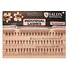 Накладные ресницы Salon Professional Knot Free Flare Mix пучковые безузелковые микс