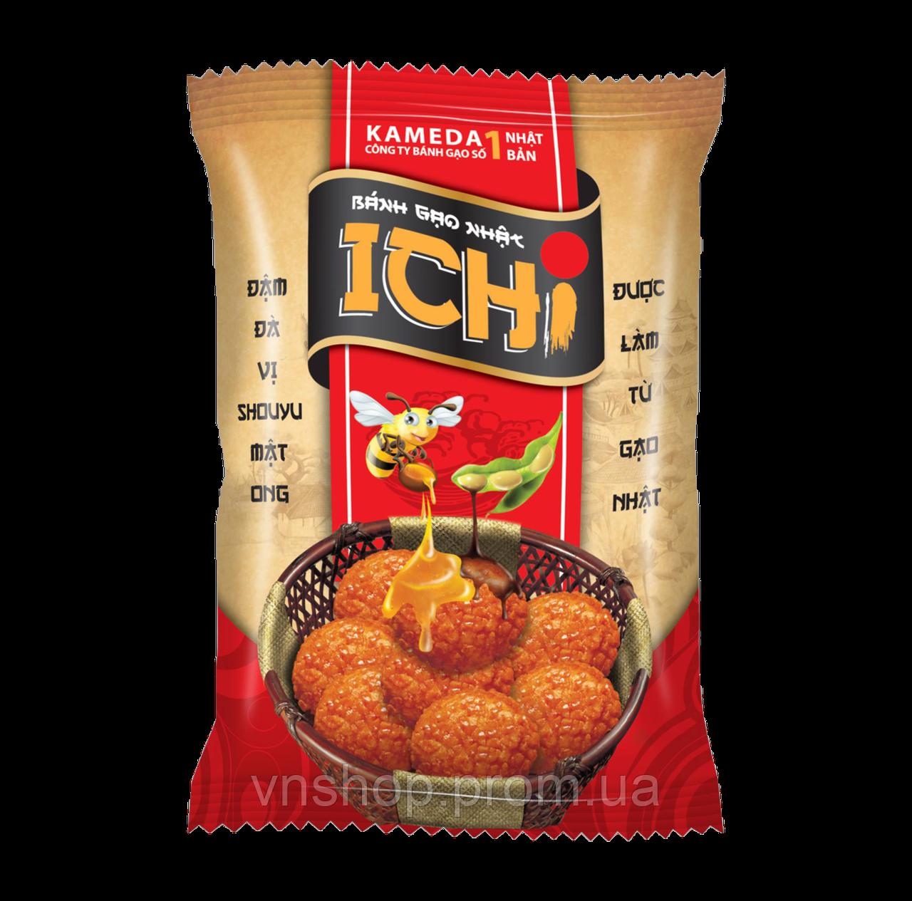 Рисовые крекеры с медом  ICHI