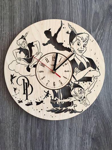 Детские настенные часы из дерева 7Arts Питер Пэн CL-0135