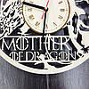 Оригинальные настенные часы 7Arts Mother of Dragons CL-0150, фото 4