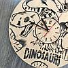 Красивые детские часы из дерева  7Arts Эпоха динозавров CL-0158, фото 4