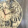 Часы хендмейд из дерева 7Arts Красавица и чудовище CL-0167, фото 3