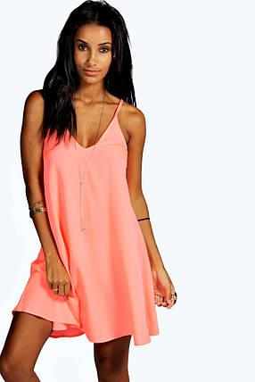 Новое яркое платье с красивой спинкой Boohoo, фото 2