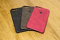 Кожаный Чехол-Накладка для iPhone 7 Plus / 8 Plus (4 Цвета)