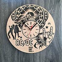 Часы ручной работы из дерева 7Arts AC/DC CL-0174