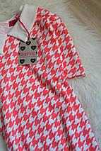 Новое платье с воротничком в принт Boohoo, фото 2