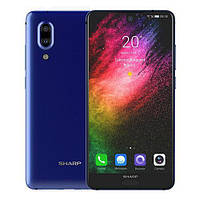 "Смартфон Sharp FS8010 Aquos S2 Blue 5.5"" IPS 4/64gb Qualcomm Snapdragon 630 3020 мАч"