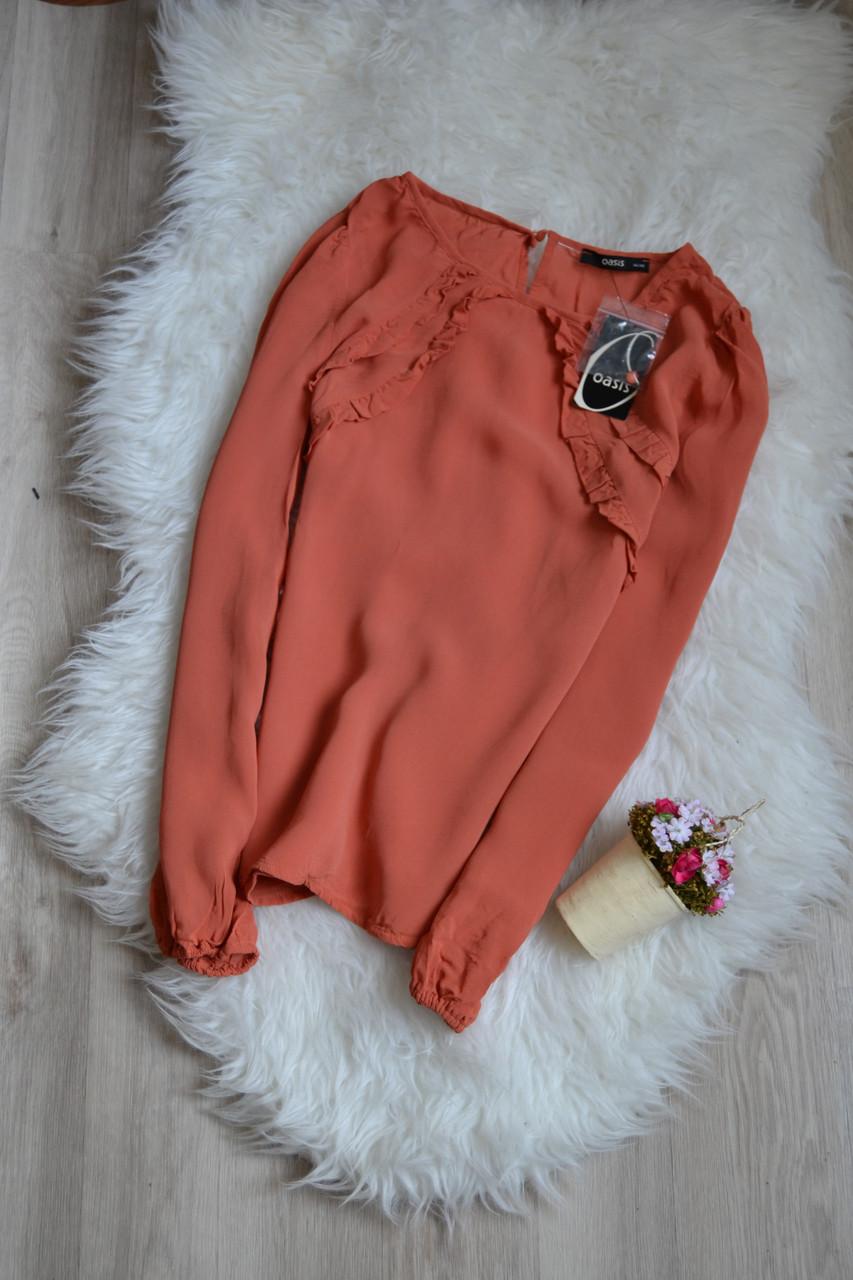 Новая блуза с рюшами Oasis