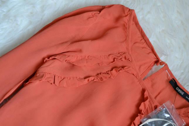 Новая блуза с рюшами Oasis, фото 2