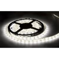 Лента Светодиодная в силиконе 5050, (60 светодиодов) 5 метров катушка White HOT