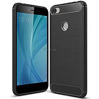 Чехол для моб. телефона для XiaomiRedmiNote5A Carbon Fiber (Black) Laudtec (LT-RN5AB)