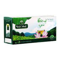 Зеленый чай с лотосом Viet Anh 50g  в пакетиках (25 шт) (Вьетнам)