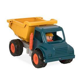 """Игрушка серии """"Первые машинки"""" - САМОСВАЛ с фигуркой водителя для детей от 18 месяцев ТМ Battat Lite BT2510Z"""
