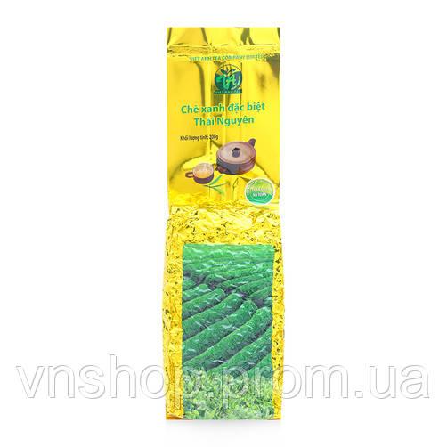 Отборный Зеленый чай Viet Anh в вакууме Gold 200g