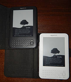 Электронная книга Amazon Kindle 3 Wi-Fi Keyboard d00901