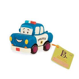 """Машинка инерционная серии """"Забавный автопарк"""" - ПОЛИЦИЯ для детей от 1 года ТМ Battat BX1497Z"""