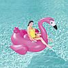 Надувной плотик для плавания «Фламинго»