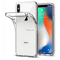 Чехол для моб. телефона для Apple iPhone X Clerar tpu (Transperent) Laudtec (LC-AIX)