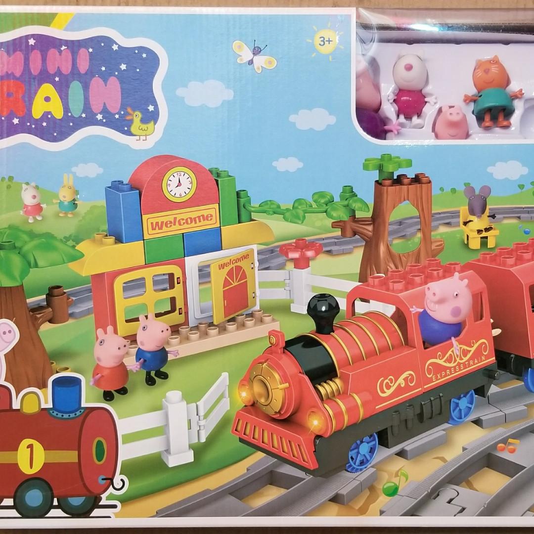 Ігровий набір залізниця Свинки Пеппы ТМ8885