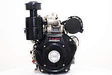 Дизельный двигатель Lifan C192FD (14 л.с ел. стартер, шпонка)