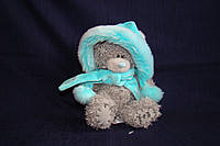 Игрушка мягкая Мишка Teddy 13 см в шапочке