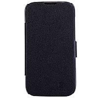 Кожаный чехол книжка Nillkin для Huawei G610 черный, фото 1