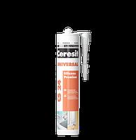Герметик Ceresit CS 24 (білий) універсальний силіконовий еластичний 280 мл