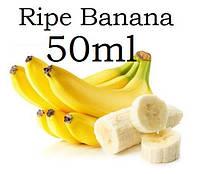 Жидкость для электронных сигарет со вкусом Спелый банан с дозатором в пластиковой ПЭТ таре ёмкостью 50мл