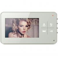 """Видеодомофон Qualvision QV-IDS4425 белый 4.3"""",  цветной монитор"""