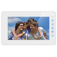 """Видеодомофон Qualvision QV-IDS4739 белый 7"""",  цветной монитор (подключение 4-вызывных панелей )"""