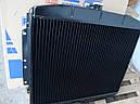 Радиатор Газ 3307 (Шадринский автоагрегатный завод, Россия) 3-х рядный , медный, фото 3