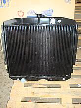 Радиатор Газ 3307 (Шадринский автоагрегатный завод, Россия) 3-х рядный , медный