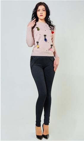 """Молодежные лосины  """"Клара"""" в большом размере, фото 2"""