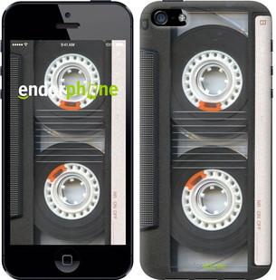 """Чехол на iPhone 5s Кассета """"876c-21-571"""""""