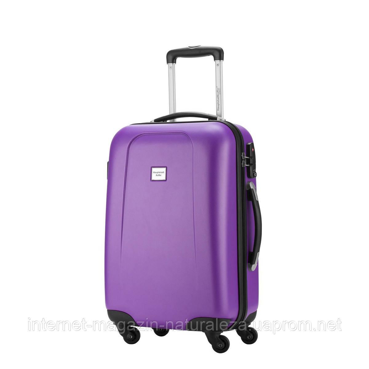 Валізу на колесах Hauptstadtkoffer Wedding Mini фіолетовий