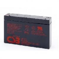 Аккумулятор свинцово-кислотный (AGM) CSB GP672 6V 7,2AH