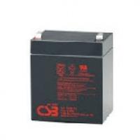 Аккумулятор свинцово-кислотный (AGM) CSB GP1245, 12V 4,5AH