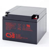 Аккумулятор свинцово-кислотный (AGM) CSB GP12260, 12V 26AH