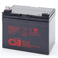 Аккумулятор свинцово-кислотный (AGM) CSB GP12340, 12V 34AH