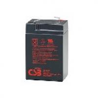 Аккумулятор свинцово-кислотный (AGM) CSB GP645 6V 4,5AH