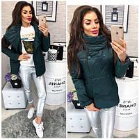 Куртка демисезонная, модель 1001/2,цвет зеленый, фото 1